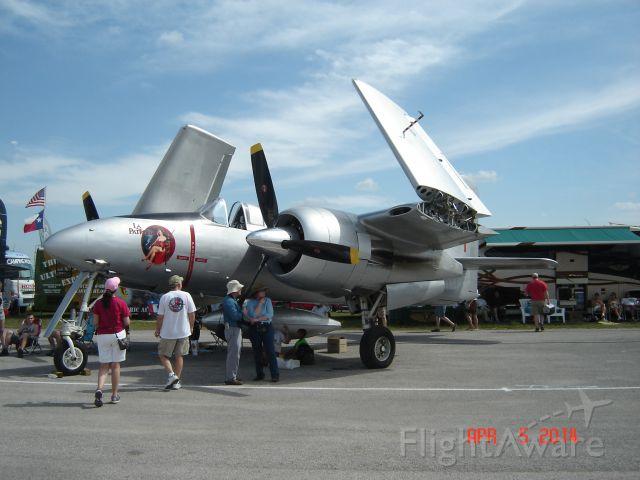 """Grumman G-51 Tigercat (NX747MX) - Grumman Tigercat """"La Patrona"""" seen at SunnFun 2014"""