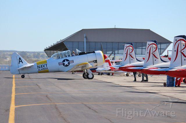 North American T-6 Texan (VH-WWA) - NAA Texan A VH-WWA YPEA May 2012