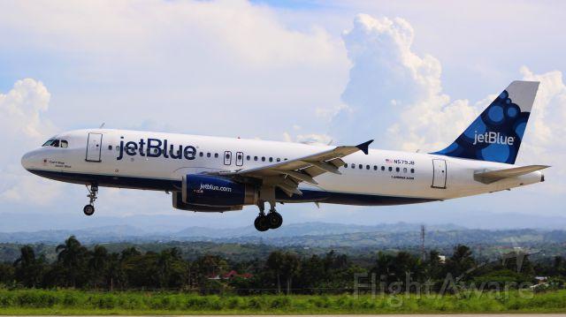 Airbus A320 (N579JB) - JetBlue 837 from New York (KJFK)