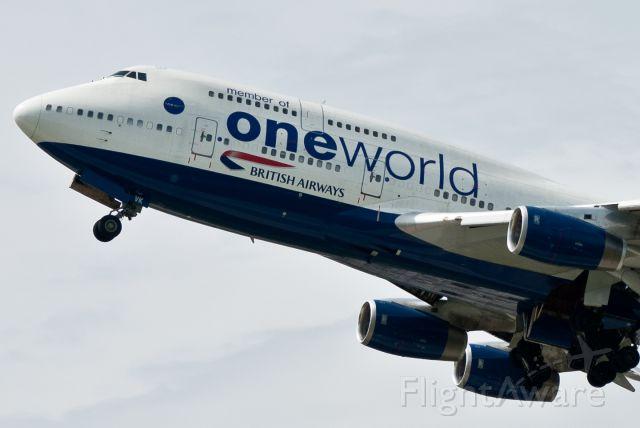 Boeing 747-400 (G-CIVK) - One World