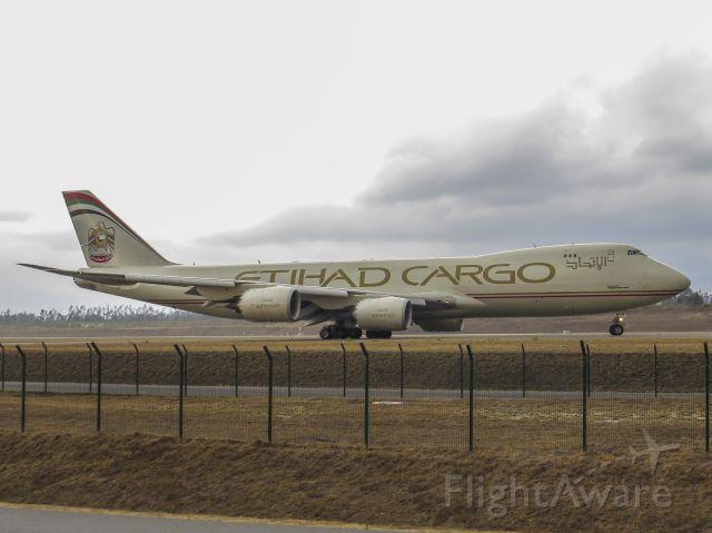 BOEING 747-8 (N855GT) - The Big One...