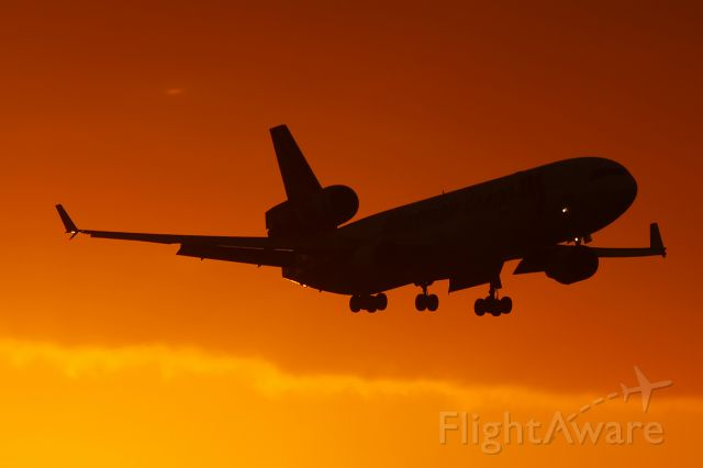 Boeing MD-11 (PH-MCS) - MD11 AND<br /> SUNSET