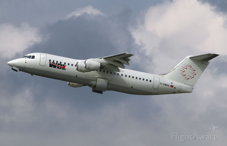 British Aerospace BAe-146-300 (D-AWBA)