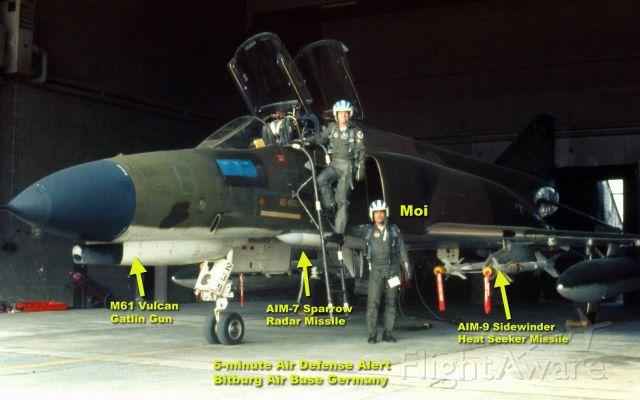 — — - Air Defense Alert Bitburg AB Germany 1975