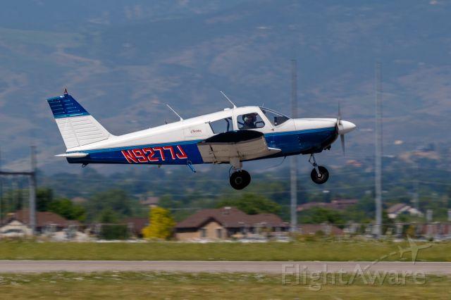 Piper Cherokee (N9277J) - N9277J just off KFNL.