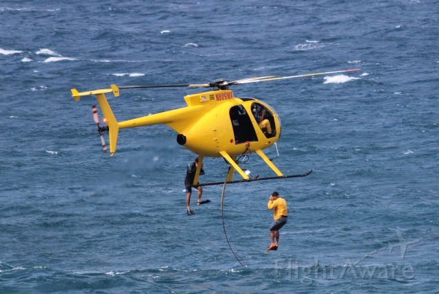 MD Helicopters MD 500 (N809WA) - SEARCH AND RESCUE TRAINING OFF THE COAST OF MAUI