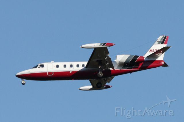 IAI 1124 Westwind (N300TC) - IAI 1124 Westwind arriving Dulles from Leesburg, FL. (KLEE)