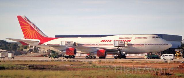 Boeing 747-400 (VT-EVA) - 4-16-2010