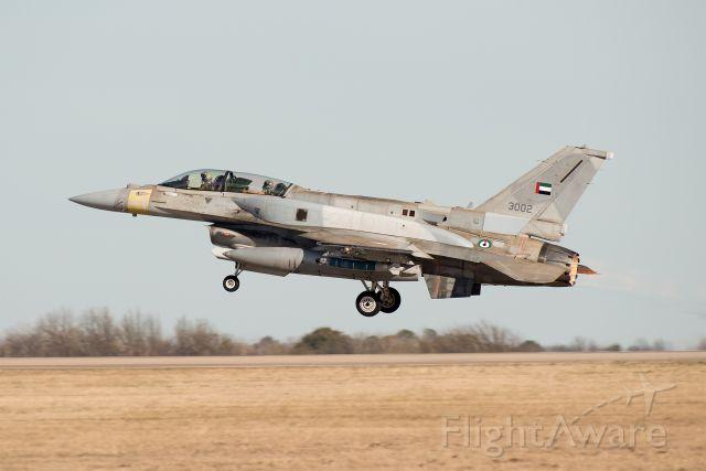 Lockheed F-16 Fighting Falcon (3002)