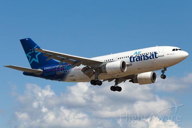 Airbus A310 (C-GSAT) - Aug 2019