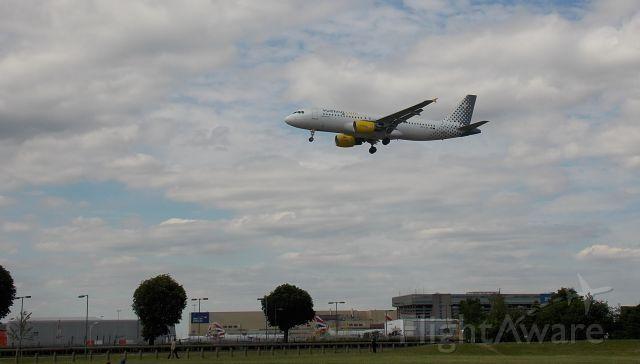 Airbus A320 (EC-LVA)