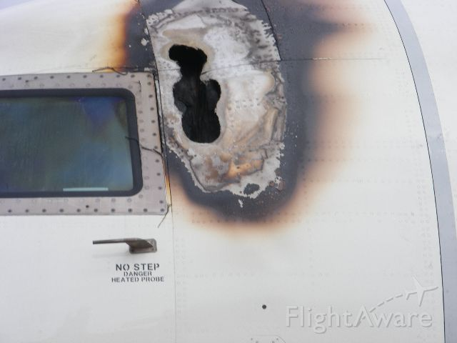 N830AS — - not Lightning Strike.  a cockpit fire, due to an electrical short.