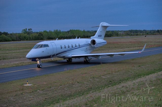 Bombardier Challenger 300 (N31CA) - Departures last day Masters 2018