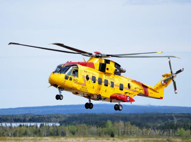 WESTLAND Merlin (14-9910) - CH 149 CORMORANT 910 from 103 SAR  Squadron, CFB Gander, Newfoundland.