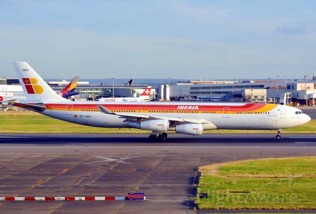 Airbus A340-300 (EC-HGV)