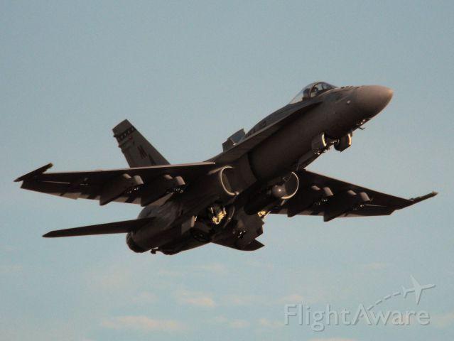 McDonnell Douglas FA-18 Hornet (16-2882) - VMFA-112 F/A-18A Hornet departing on RWY27
