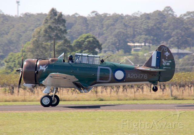 AEROCOMP Comp Air 3 (VH-WWY) - CA-3 Mk. II Wirraway<br />Built in 1940, Australia<br />Photo: 6.04.2019