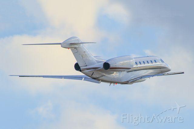 Cessna Citation X (N765XJ) - Cessna Citation 750 departing Atlanta's PDK airport.