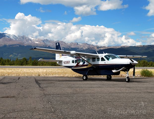 Cessna Caravan (N208EP) - I think this may have been a demonstrator model from Cessna.