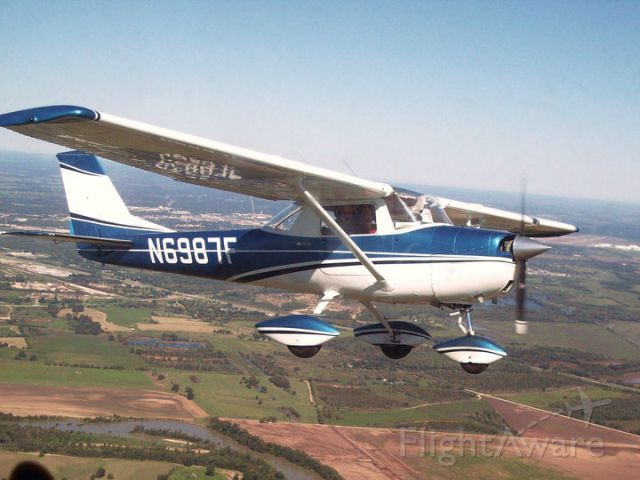 Cessna Commuter (N6987F) - Spring day over Waco TX