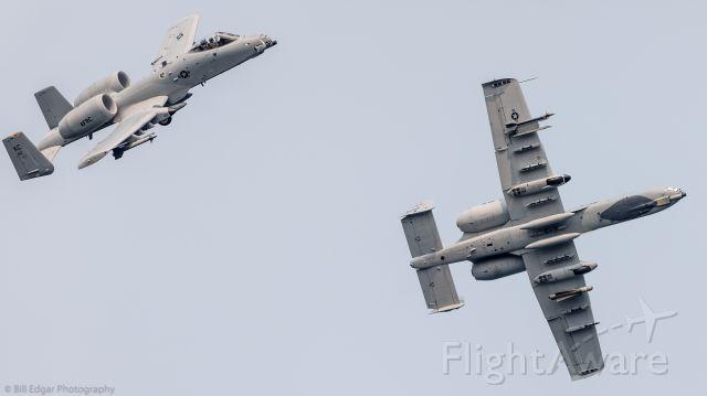 Fairchild-Republic Thunderbolt 2 — - Peeling off