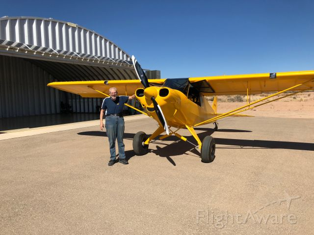 N96EX — - Newly built Carbon Cub just before its first flight.