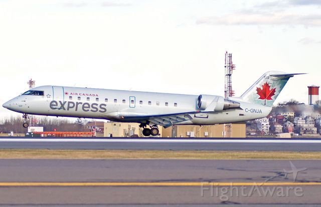 Canadair Regional Jet CRJ-200 (C-GNJA) - OH Canada