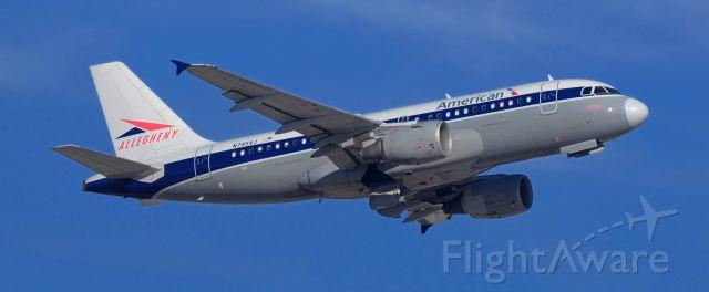 Airbus A319 (N745VJ) - phoenix sky harbor international airport 17JAN20