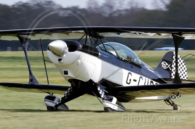 G-CUPP — - Aerotek Pitts S-2A Special G-CUPP [cn.2166]. At the grass strip Lashenden Headcorn Aerodrome in Kent England.