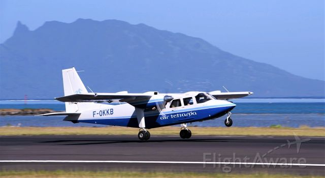ROMAERO Turbine Islander (F-OKKB)
