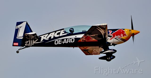 EXTRA EA-300 (OE-ARO) - OE-ARO Red Bull (1)  Extra EA 300 c/n LC027 - North Las Vegas Airport (IATA: VGT, ICAO: KVGT, FAA LID: VGT)<br />Photo: Tomas Del Coro<br />October 12, 2016