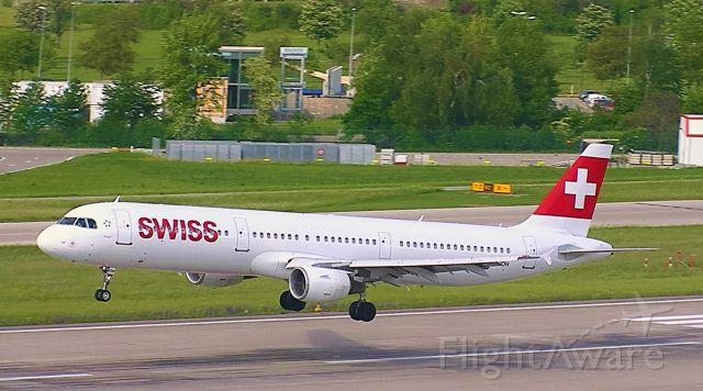 Airbus A321 (HB-IOH) - Arriving from Copenhagen
