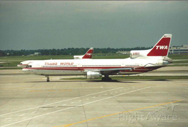 Lockheed L-1011 TriStar (N31031) - TWA