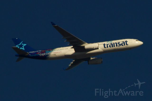 Airbus A330-300 (C-GTSD) - Climbing out in turn turn 6L br /Nice clear day perfect for picture.