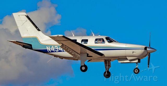 Piper Malibu Mirage (N4346P) - N4346P 1984 PIPER PA-46-310P Malibu s/n 46-8408040 - North Las Vegas Airport (IATA: VGT, ICAO: KVGT, FAA LID: VGT) March 12, 2018<br />Photo: Tomás Del Coro