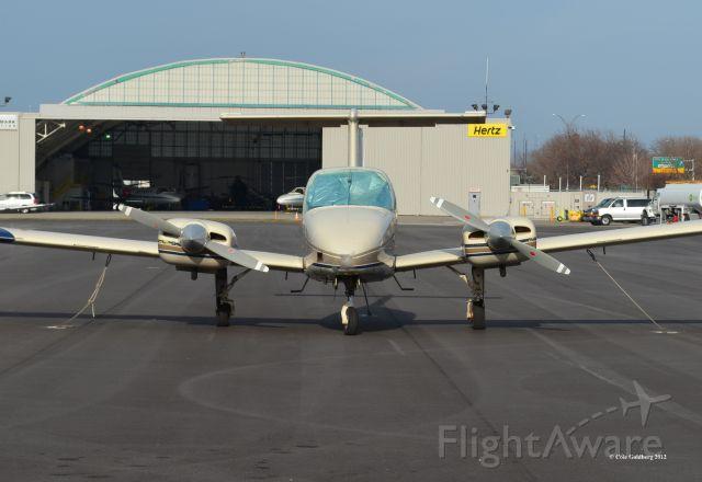 Beechcraft Duchess (N1850N) - N1850N seen at KBKL. Please look for more photos at Opshots.net
