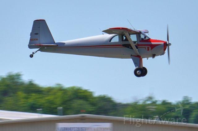 TEMCO Silvaire (N2313K) - Flying down runway 8