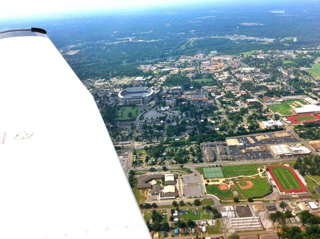 Piper Cherokee (N48PR) - U of Alabama Campus, Tuscaloosa