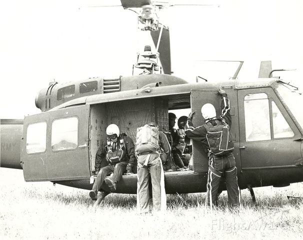 — — - Skydiving at Son DZ at Ft. Campbell, KY in yhr 1970s.