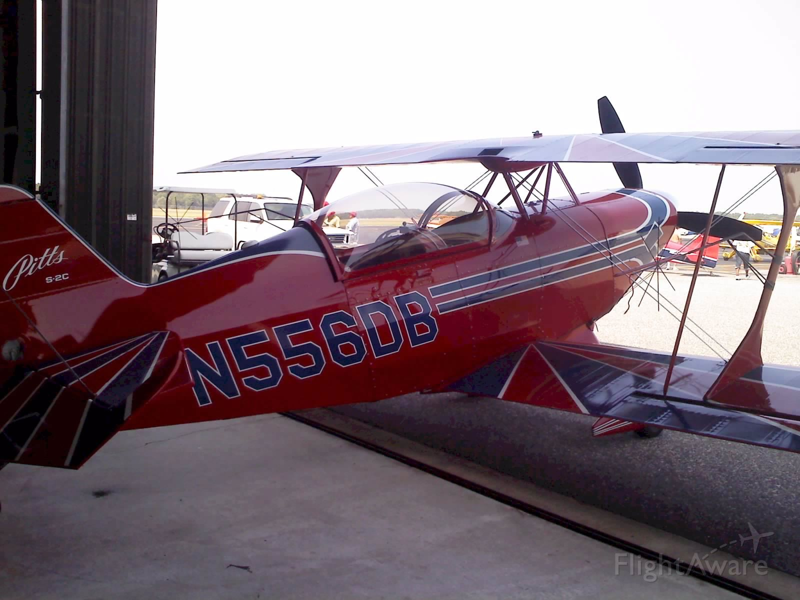 PITTS Special (S-2) (N556DB) - Nice aerobatic bird at WWD for training.