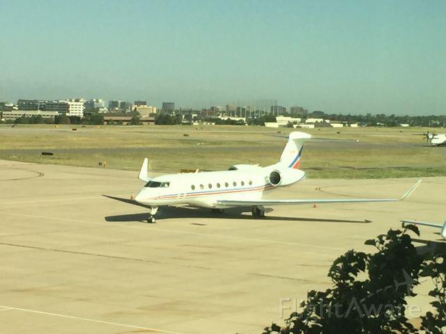 Gulfstream Aerospace Gulfstream G650 (N100A) - This gorgeous Gulfstream G650 sitting on the ramp