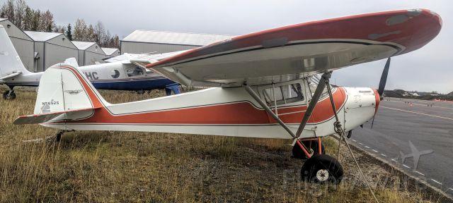 TAYLORCRAFT (1) BL (N69625) - Birchwood AK Airport tie-down yard