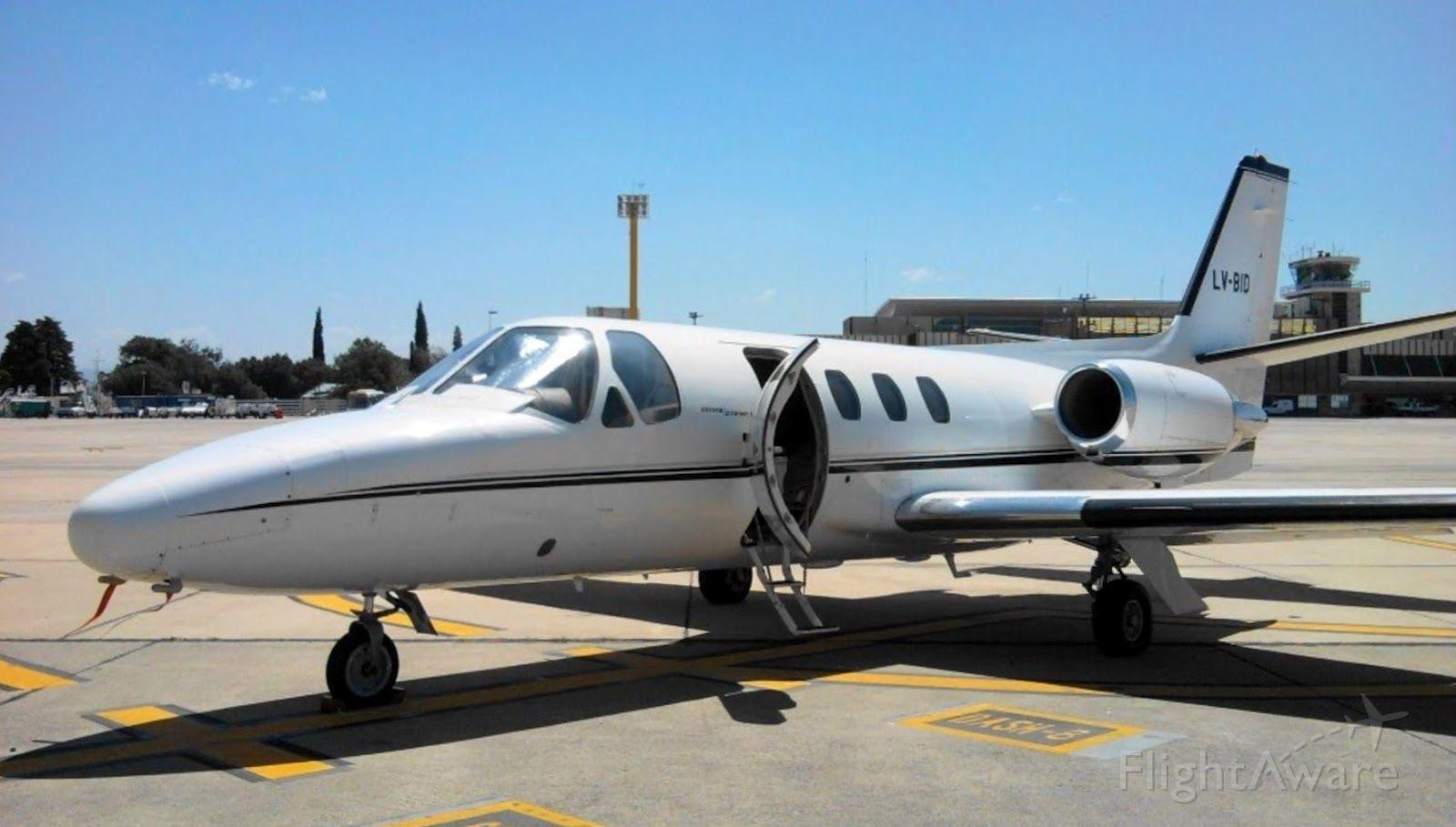 Cessna 500 Citation 1 (LV-BID)