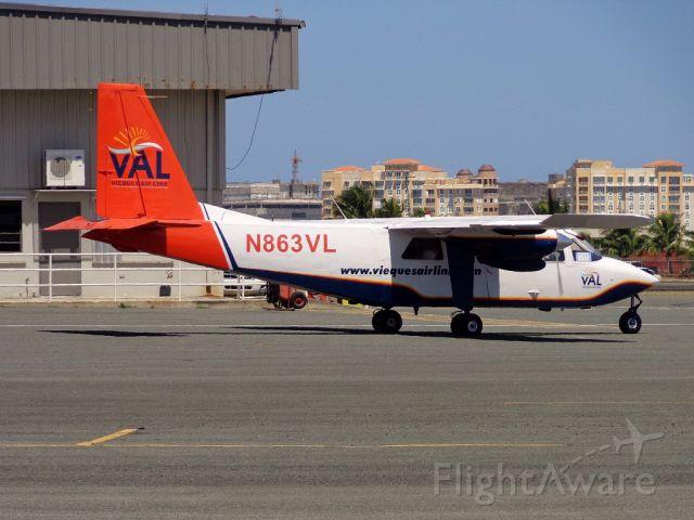 ROMAERO Islander (N863VL)