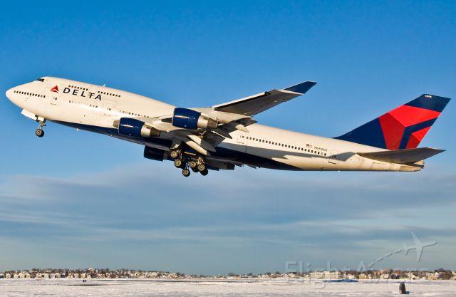 Boeing 747-400 (N668US) - Fly Delta