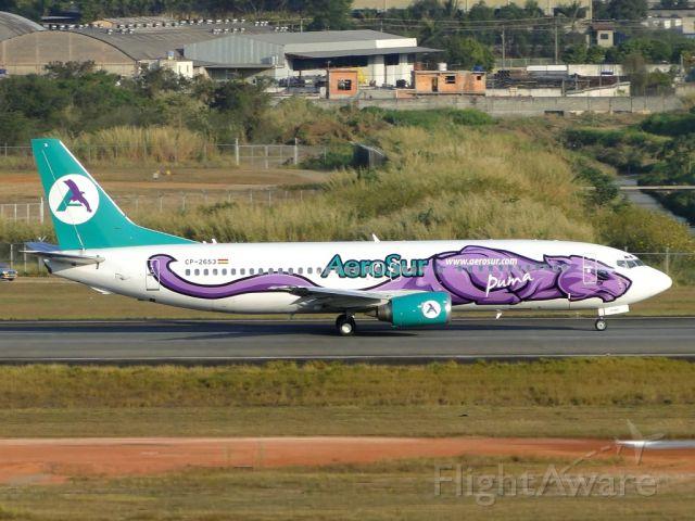 "BOEING 737-400 (CPZ2653) - Special Colours ""Puma""."