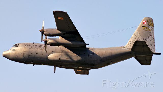 Lockheed C-130 Hercules (PAF1504) - Swidwin Airbase 2018 - Poland.