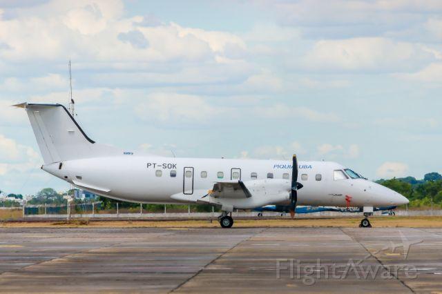 Embraer EMB-120 Brasilia (PT-SOK) - PIQUIATUBA TAXI AEREO LTDA. EMB-120QC