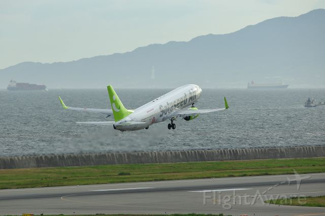 Boeing 737-800 (JA806X) - Company name changed to Solaseed Air from the Skynet Asia Airways From July/1/2011