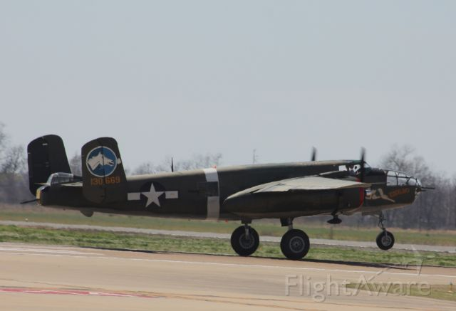 "North American TB-25 Mitchell — - Collings Foundation B-25 ""Tondelayo"""